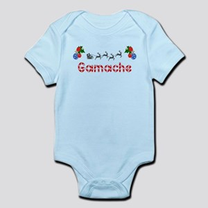 Gamache, Christmas Infant Bodysuit