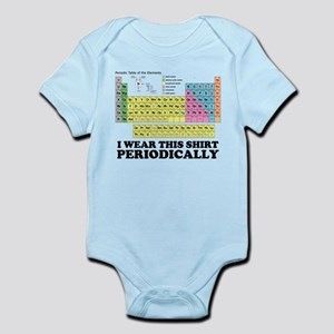 I wear this shirt periodically periodic table Infa