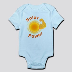 Solar Power Strong Arm Body Suit