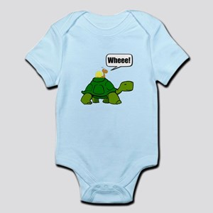 Snail Turtle Ride Body Suit