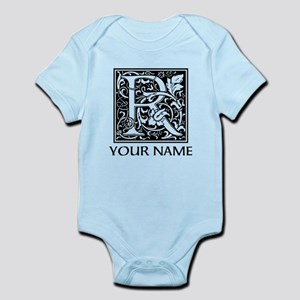 Custom Decorative Letter R Body Suit
