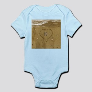 R Beach Love Infant Bodysuit