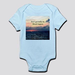 MIRACLES HAPPEN Infant Bodysuit