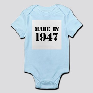 Made in 1947 Body Suit