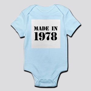 Made in 1978 Body Suit