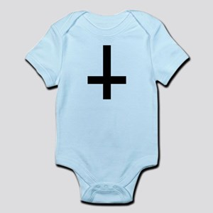 Cross antichrist Infant Bodysuit