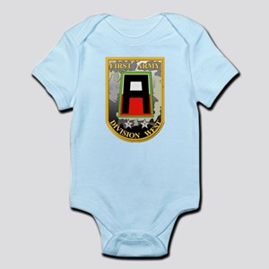 SSI - First Army Division West Infant Bodysuit