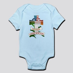 Irish American Celtic Cross Infant Bodysuit