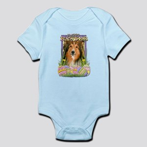 Easter Egg Cookies - Sheltie Infant Bodysuit