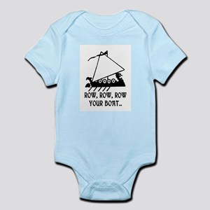 ROW, ROW, ROW YOUR BOAT Infant Bodysuit