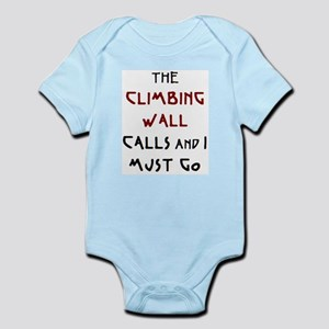 climbing wall calls Infant Bodysuit
