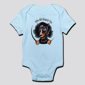 3123819ec Longhaired Dachshund Baby Clothes & Accessories - CafePress