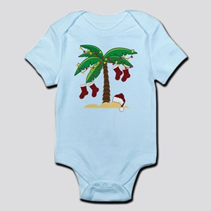 Tropical Christmas Infant Bodysuit