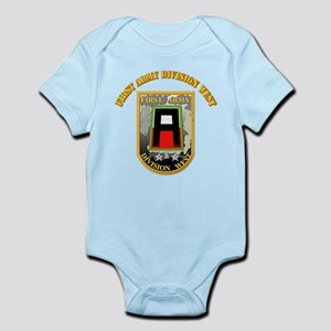 SSI - First Army Division West with Text Infant Bo