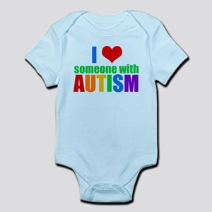 Autism Love Baby Light Bodysuit