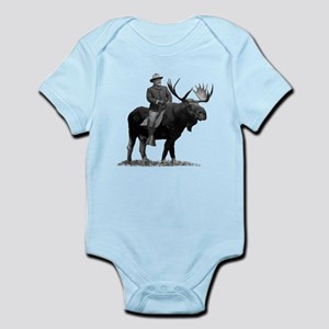 Teddy Roosevelt on Bullmoose Body Suit