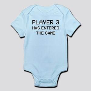 544f1614 Player 3 Has Entered The Game Infant Body Suit