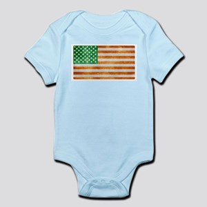 Irish American Flag Body Suit