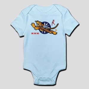 Flying Tigers (B) Nose Art Infant Bodysuit