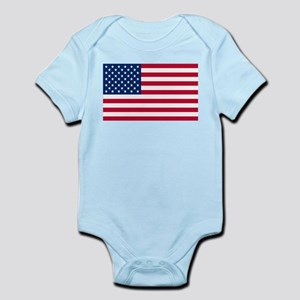 American Flag Body Suit