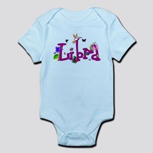 Libra Flowers Baby Light Bodysuit