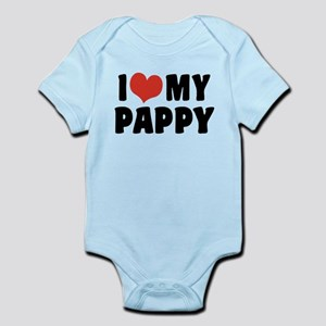 I Love My Pappy Infant Bodysuit