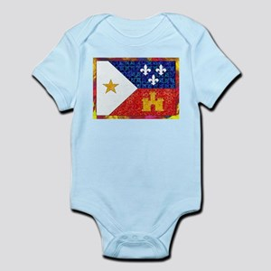 AcadianFlagBright Body Suit