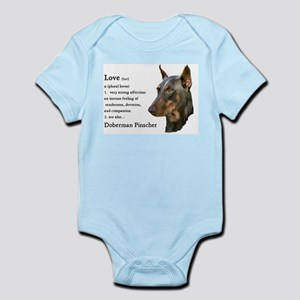 Doberman Pinscher Gifts Infant Bodysuit
