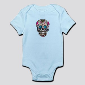 3a063a40d Sugar Skull With Roses Baby Clothes & Accessories - CafePress
