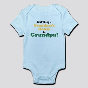 671bad85 Only The Best Dads Get Promoted To Grandpa Baby Clothes ...
