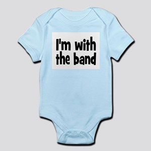 7ac4e8a4 Im With The Band Baby Clothes & Accessories - CafePress