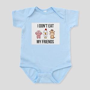 1111d71fb I Don't Eat My Friends - Vegan / Veg Body Suit