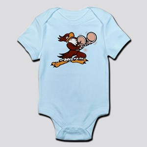 Fighting Eagle Nose Art Infant Bodysuit
