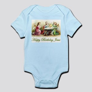 Happy Birthday Jesus Infant Bodysuit