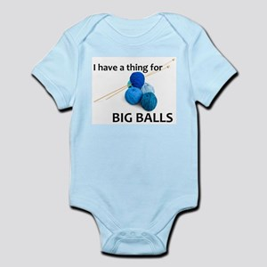 Knitting Gifts - Knitter Big Balls Body Suit