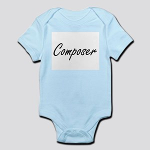 Composer Artistic Job Design Body Suit