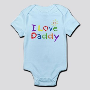 2d5f400c I Love Daddy Baby Clothes & Accessories - CafePress
