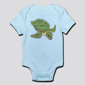 SEA TURTLE [2] Infant Bodysuit
