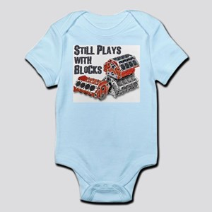 Still Plays With Blocks Infant Bodysuit