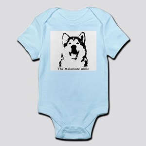 The Malamute Smile Infant Bodysuit