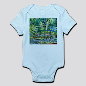 Monet - Water Lily Pond Infant Bodysuit