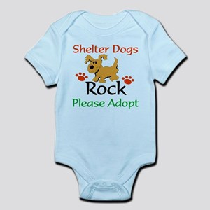 Shelter Dogs Rock Please Adopt Body Suit