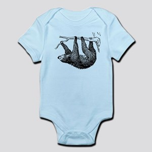 47969226f Three Toed Sloth Baby Clothes & Accessories - CafePress