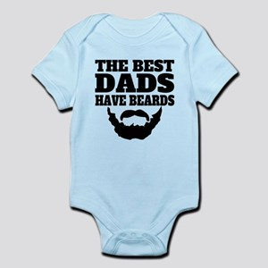 The Best Dads Have Beards Body Suit