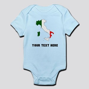 Italian Flag Silhouette (Custom) Body Suit