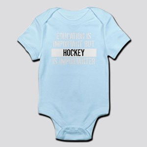 Hockey Is Importanter Baby Bodysuit