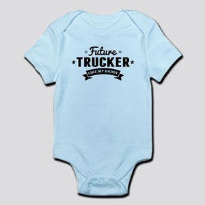 43f1b6ae Truck Driver Dad Baby Clothes & Accessories - CafePress