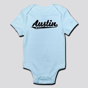 Austin TX Retro Logo Body Suit