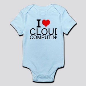 I Love Cloud Computing Body Suit