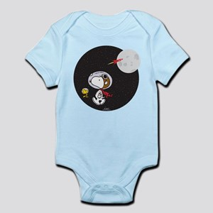 Space Snoopy Baby Light Bodysuit
